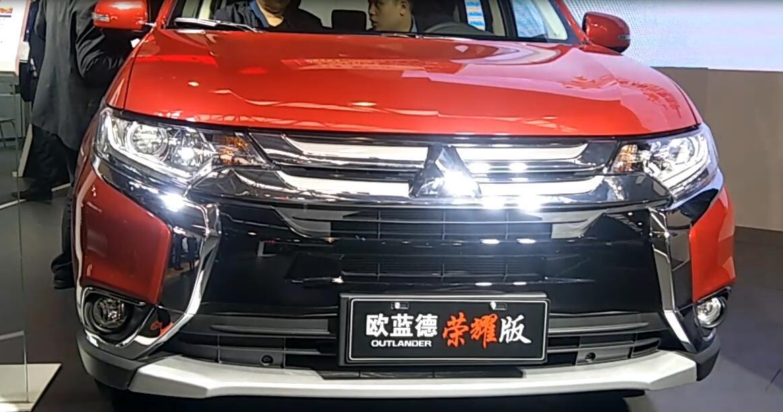 2018款三菱欧蓝德, 搭载2.4l发动机配四驱, 起售价为16万!图片