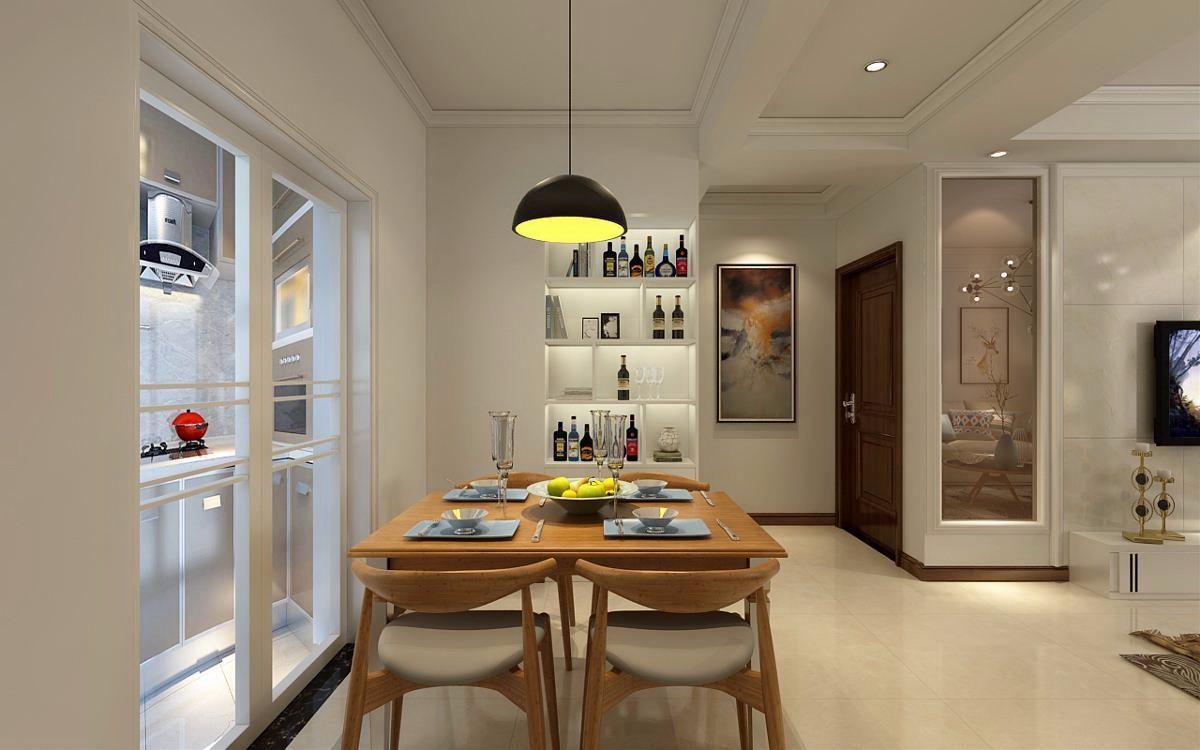 家居装修推荐轻奢:74㎡北欧风格装修,您觉得怎么样?