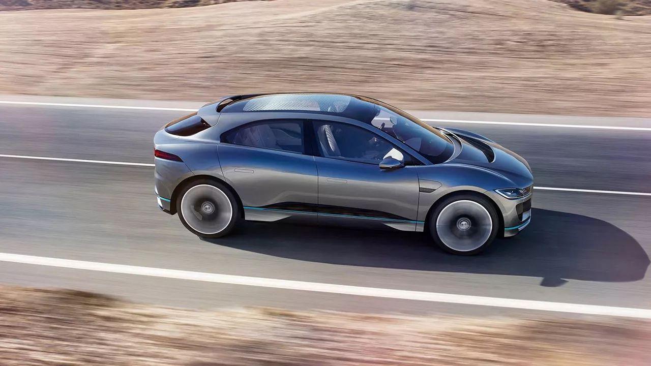 捷豹推出首款纯电动SUV I-PACE 2018年正式上市