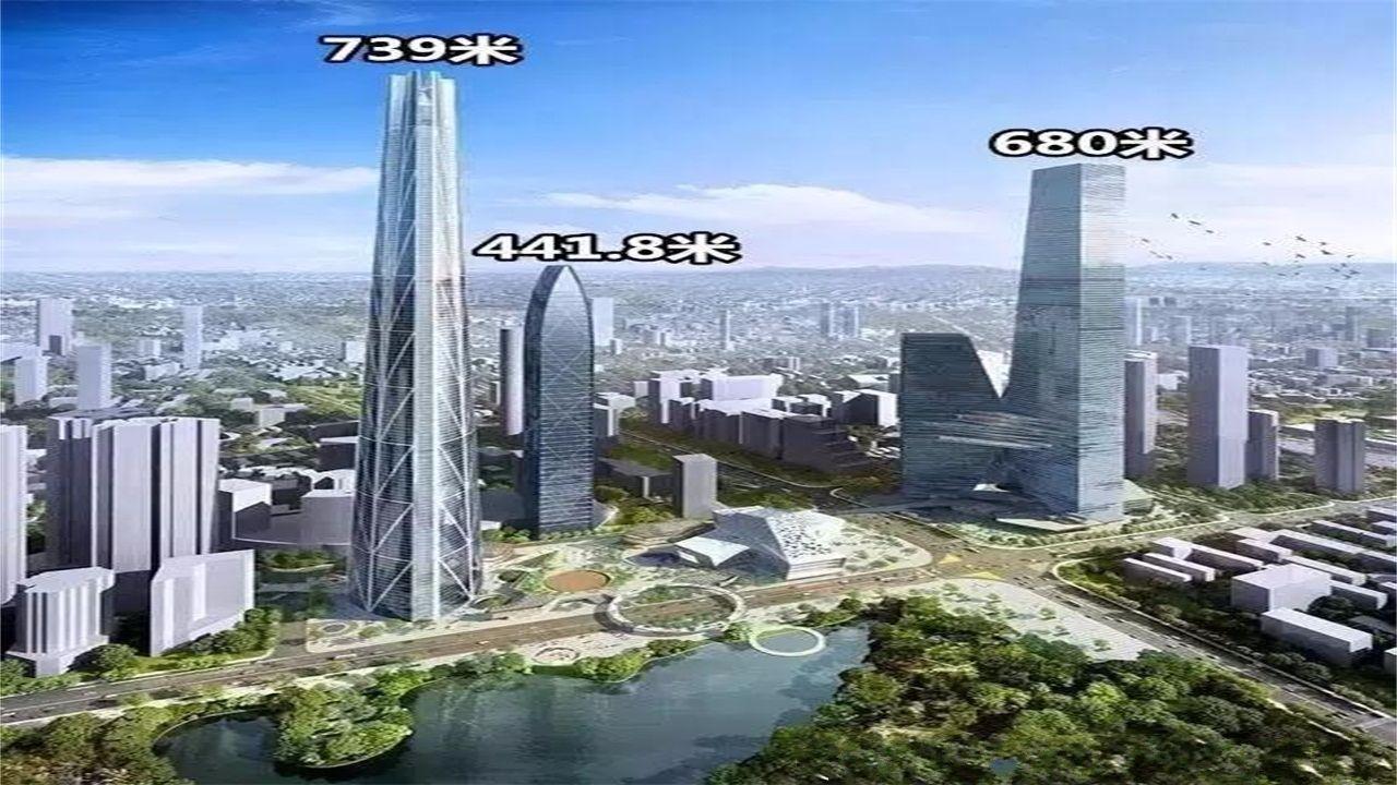 深圳这次火了,建造世界第一高楼足有830米,干掉迪拜塔