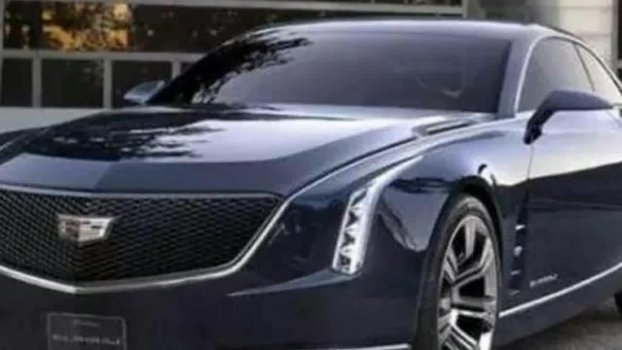 对标宾利欧陆 凯迪拉克超跑概念车  ?
