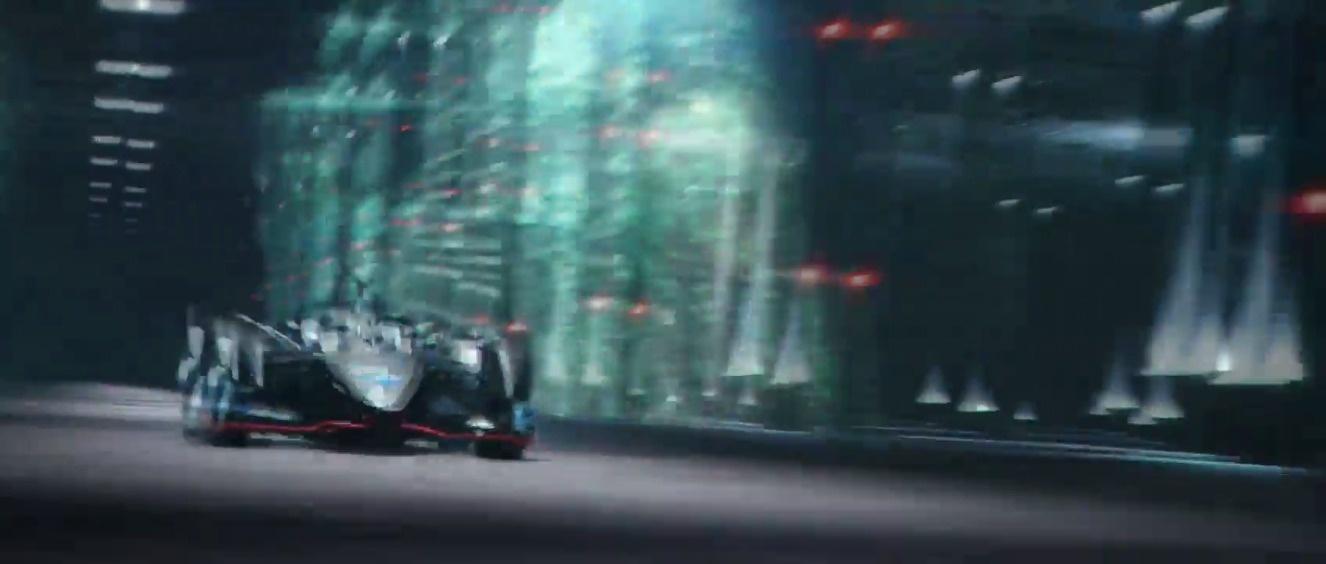 日产在日内瓦车展发布 FE电动方程式 概念车,下赛季他们将以厂队身份进入...