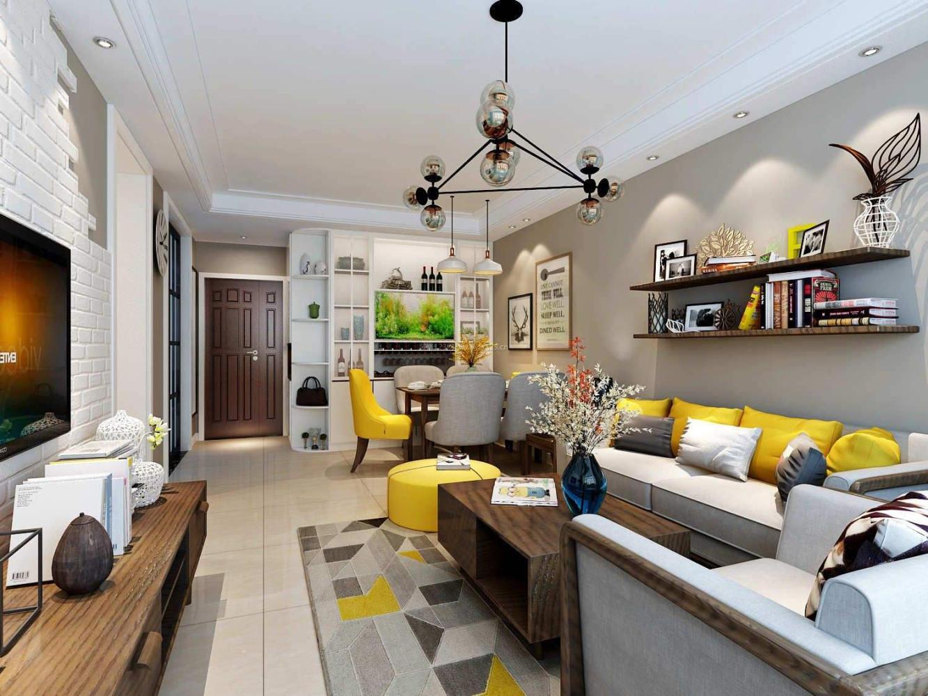 新房装修设计风格解析: 北欧极简风格!