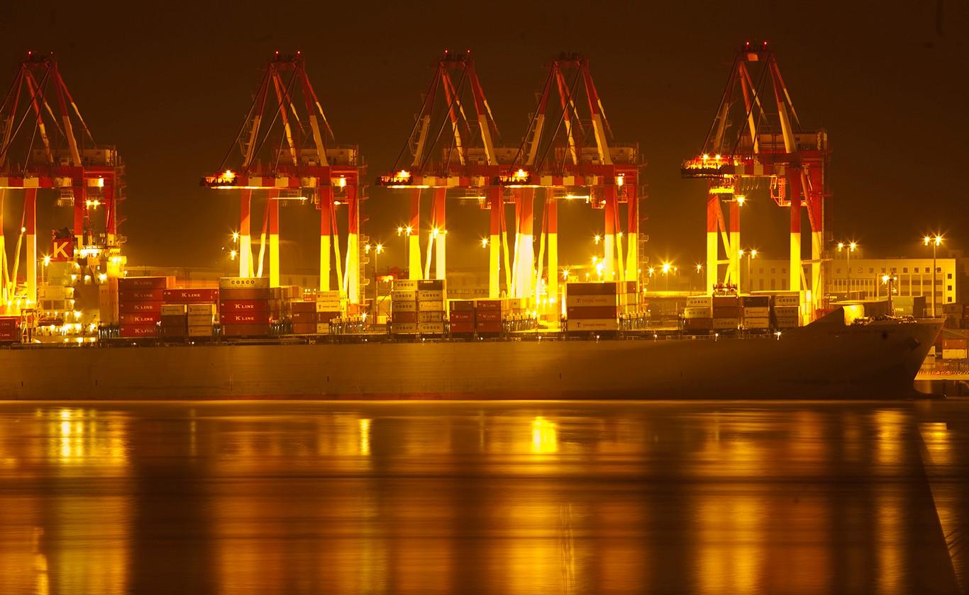 世界第一大港--洋山港