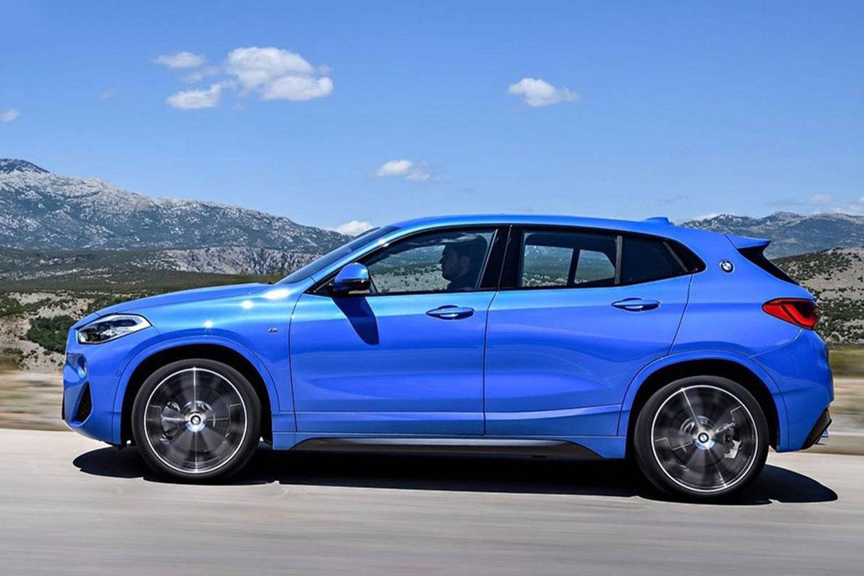 全新宝马X2即将问世 更运动更好看对标奔驰GLA