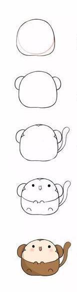 今天我们来画十二生肖简笔画,都是版的小动物,萌萌的很可爱哦,也很好
