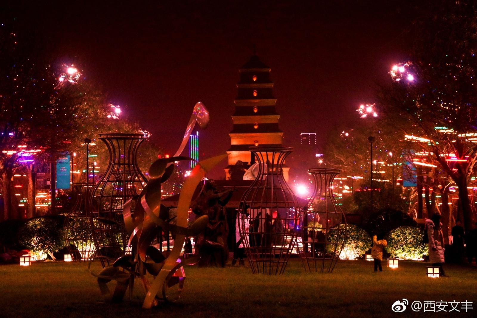 西安大唐不夜城平面图