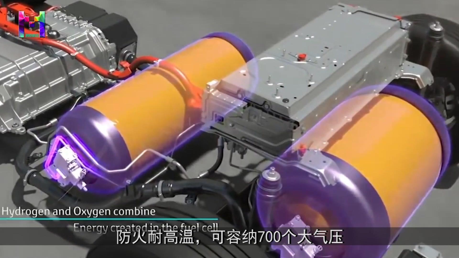 世界首款氢动力汽车,不加油不充电,比电动汽车还省钱  