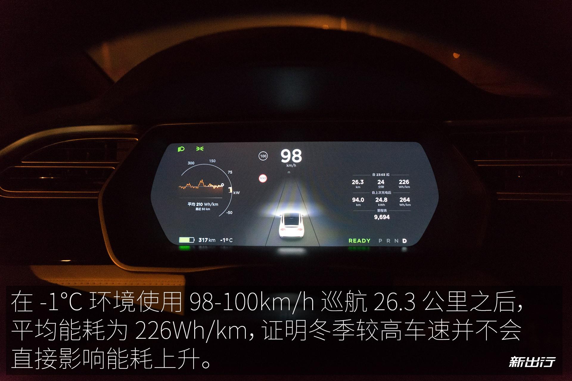 特斯拉Model X 100D冬季充电/续航测试 您想知道的都在这里了