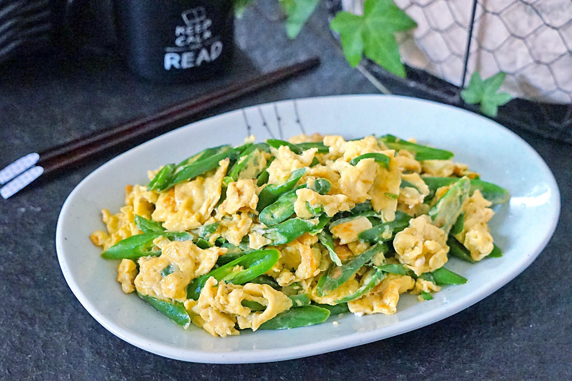 只需再加一步,来试试这样炒鸡蛋,就让青椒没有生味还很下饭