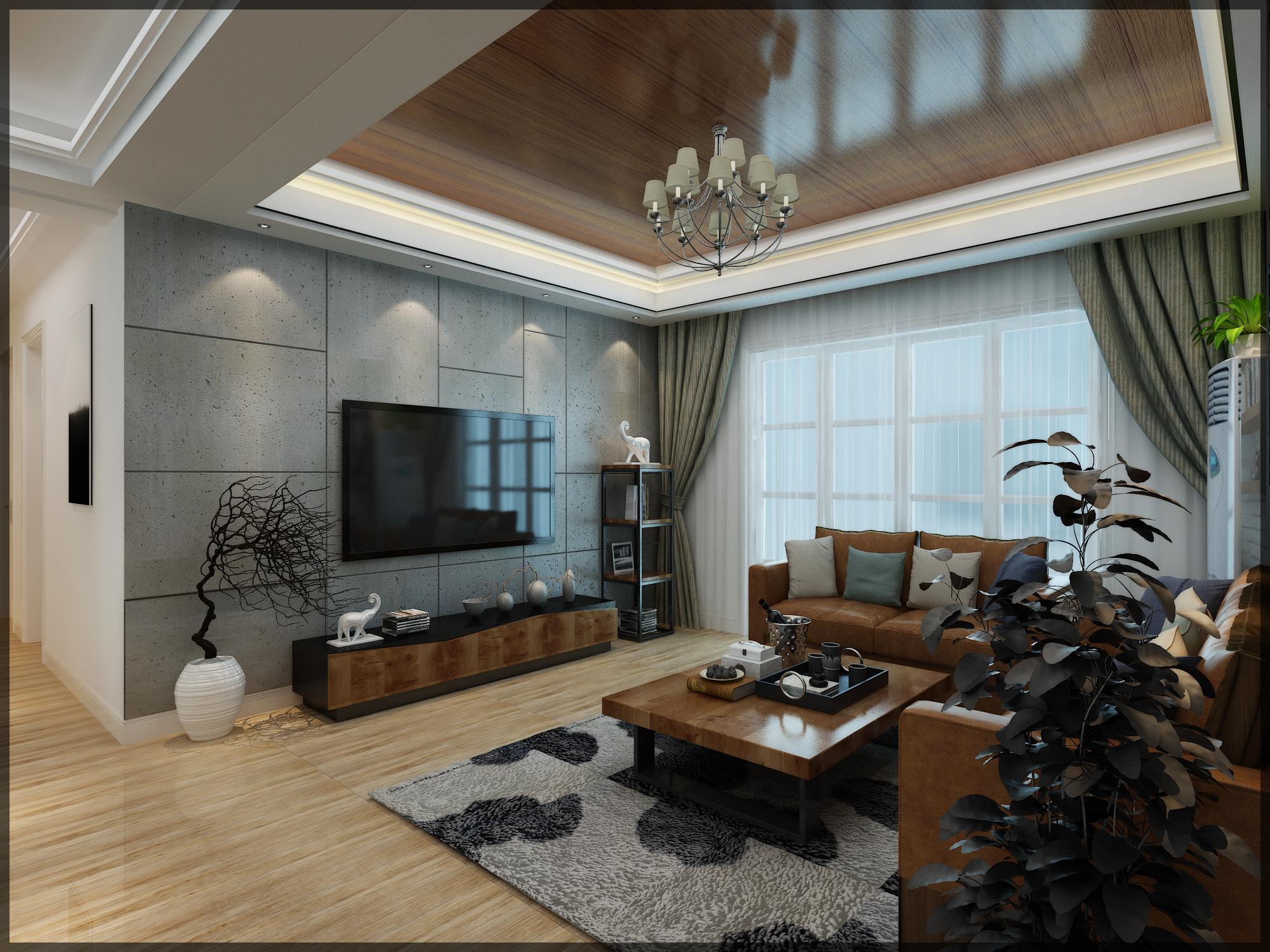 诺丁山的梦,合肥融侨观邸婚房现代风格+loft