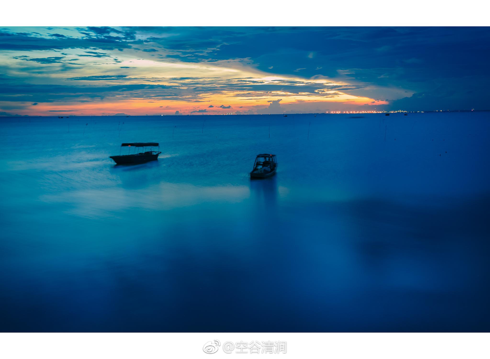 故乡的海每一次相遇都会欣喜每一次离别都会不舍日出日暮每一个图片