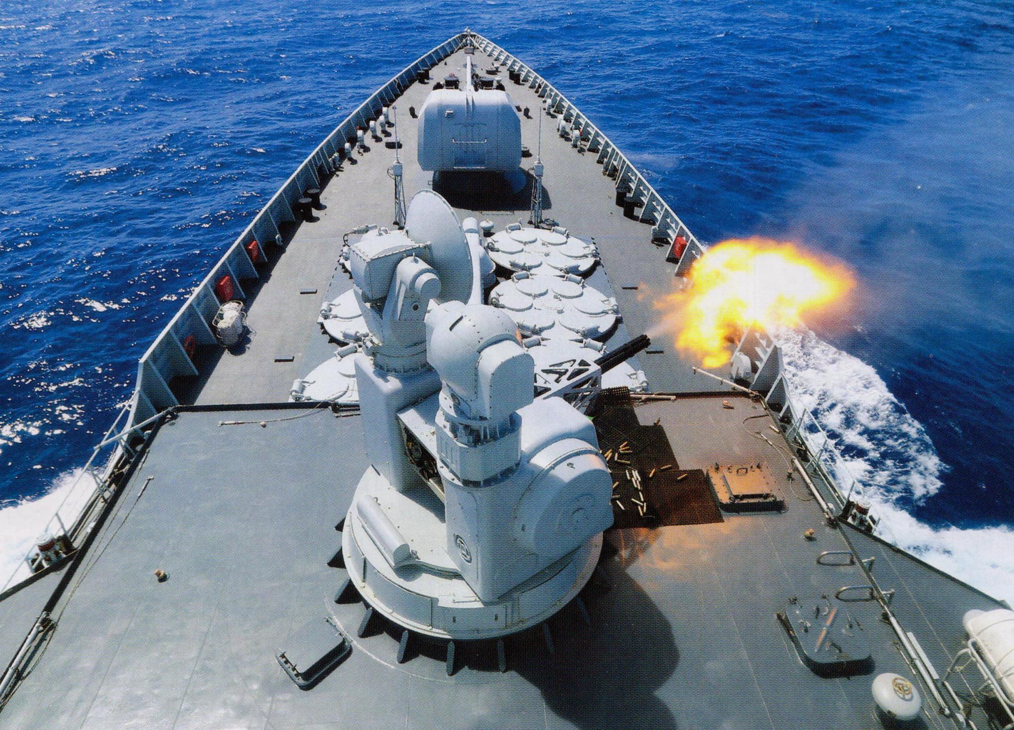 这是新批次054a护卫舰,052d驱逐舰,055驱逐舰,辽宁航母,国产航母上