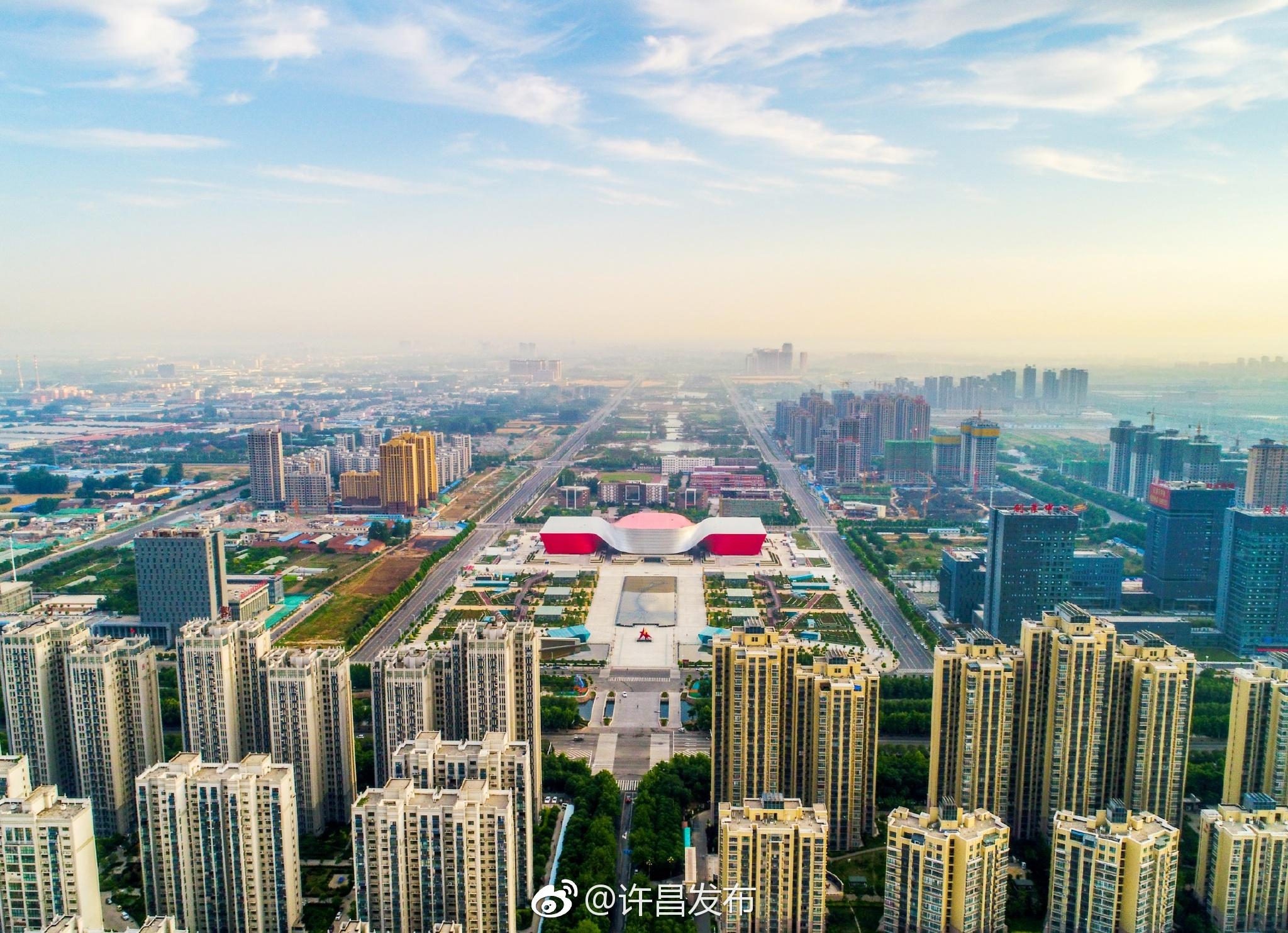 晒晒咱家乡的新风貌!许昌--国家生态园林城市范儿[威武]