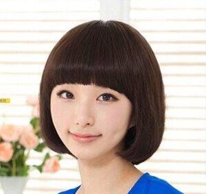 烫发知性奶奶的作文阳光短发又年级二学生发型圆脸适合图片