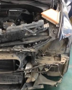 宝马5系抵押车拆了8天找出20个GPS,修车店:不拆干净绝不交车!