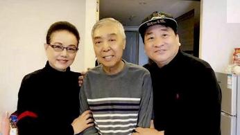 65岁师胜杰满头白发面容憔悴,疑患严重肝病,郭德纲却意外被黑