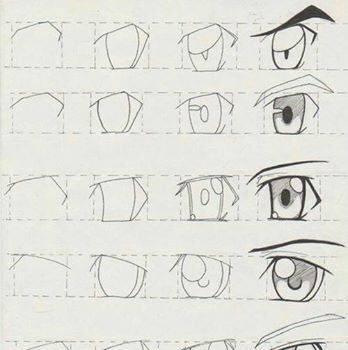 动漫人物眼睛的画法 以及步骤赶紧收藏起来吧