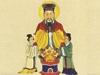 灶神是神话传说中等级最低的地仙, 又称灶王爷, 灶君