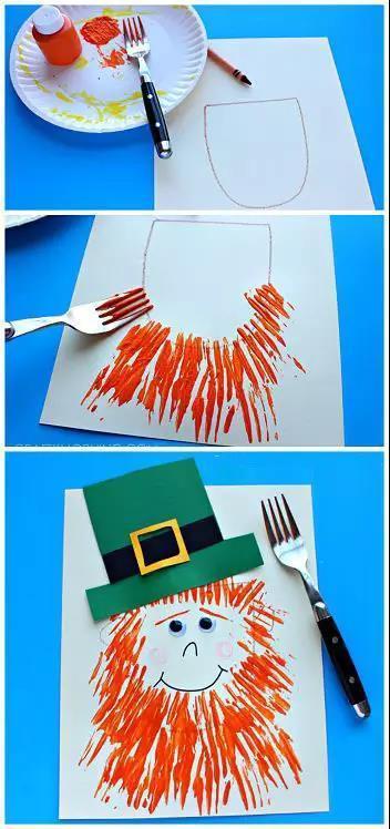 当叉子遇上幼儿园的小朋友,引发强烈的色彩碰撞