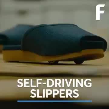 """什么?拖鞋也能""""自动驾驶""""了,不可思议!制造业强国智能家居  """