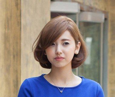 10款女生经典波波头短发发型!图片