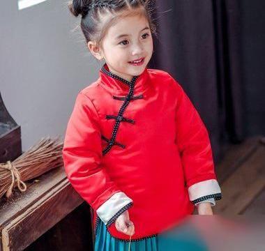 2018新春小女孩喜气发型!
