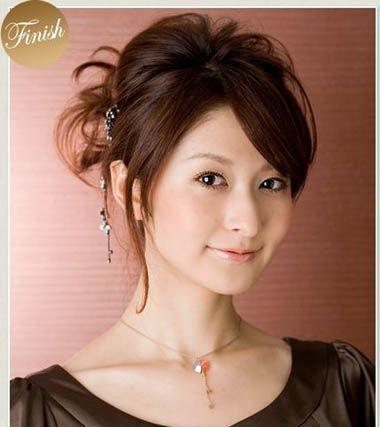 9款女生好看的长发盘发发型!
