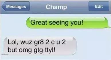 LOL, OMG, TTYL…Z这都什么意思?和老外聊天不懂缩写超尴尬…