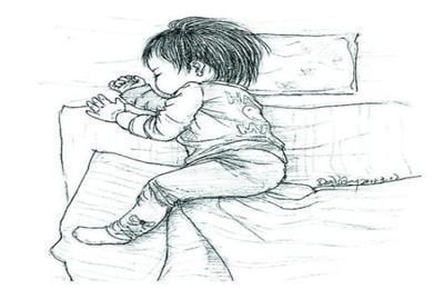 宝宝睡觉经常喜欢爱踢被子怎么办?