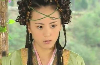 姜华的蛇精大反派,尽显妖娆邪魅,发型夸张但是也不影响颜值和美感啊图片