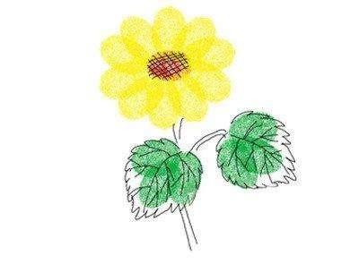 幼儿园创意美术绘画:指印画作品教程,建议宝妈收藏!图片