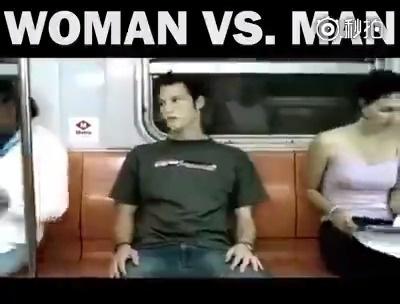 在公共场合有些事男人可以做,女人还真不好做   新年新套路 搞笑幽默 微...