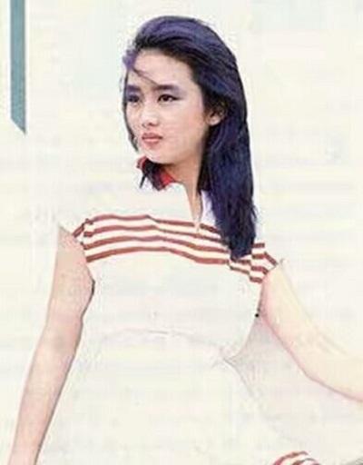 年青时的朱丽倩简直美若惊鸿,怪不得刘德华弃喻可欣却独宠她30年