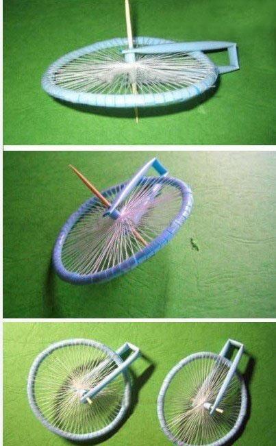 吸管自行车的diy创意教程 手工制作教程吸管自行车