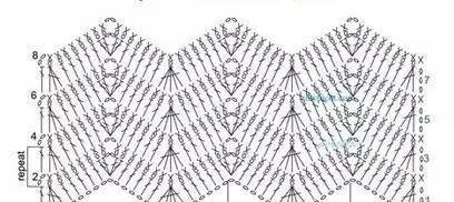 钩针起针固)�_漂亮的钩针花样 详细图解 手工编织(18)