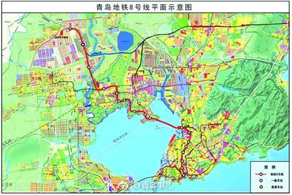 它串联起了胶州市,城阳区,李沧区,市北区,市南区5个行政区,是连接青岛