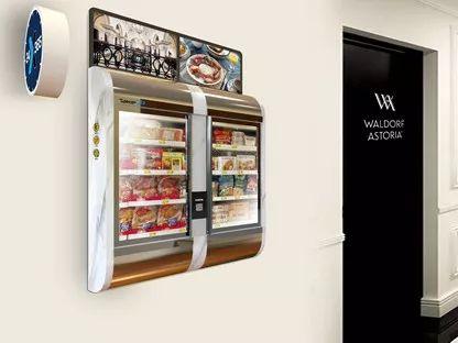 深兰科技主打产品之一,壁挂式便利店