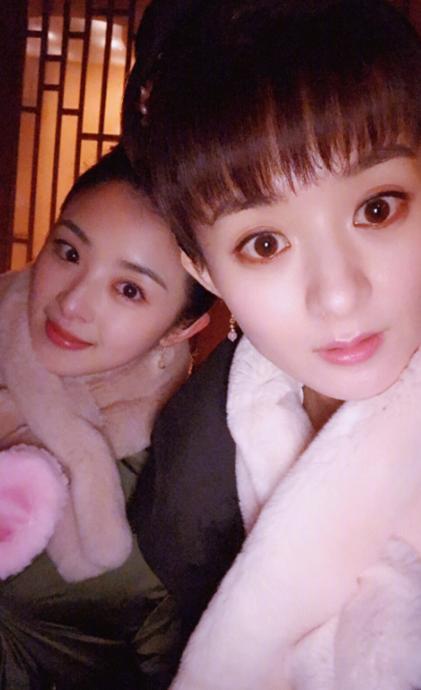 女星齐刘海发型:杨颖女神,杨幂尴尬,赵丽颖美得不像话图片