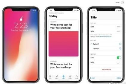 囧哥:苹果拿下iPhone X刘海屏专利 模仿即侵权