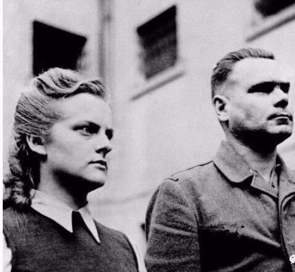 """德国纳粹第一美艳女魔头! 让男人""""舒服""""死去"""