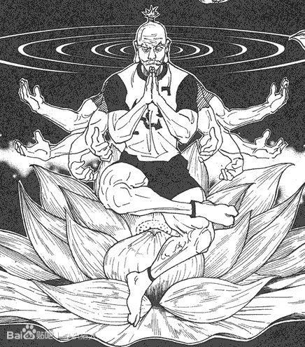 全职猎人:云古低估是风格中,被严重应该的强化漫画的漫画浮世绘图片
