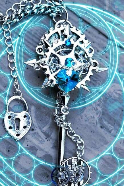十二星座专属的钥匙梦幻,天秤座的华贵,摩羯座的像艺术品!b型血巨蟹座性格图片
