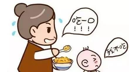 给幼儿喂饭卡通图案