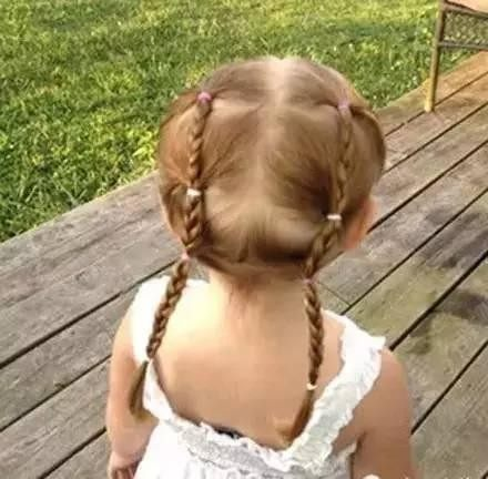 看了这些小女孩编发,我都想生个女儿!