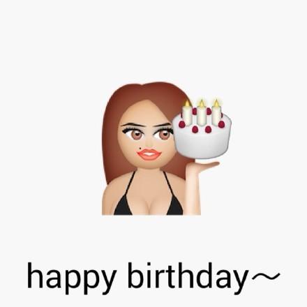 emoji 生日快乐表情图片