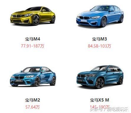 宝马全部在售车型详解大全,车型、价值、厂商这里全都有