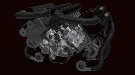 V型发动机,W型发动机,水平对置发动机对比