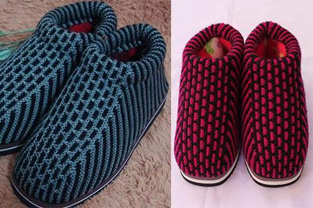 手工棉鞋的编织方法 超详细制作步骤!
