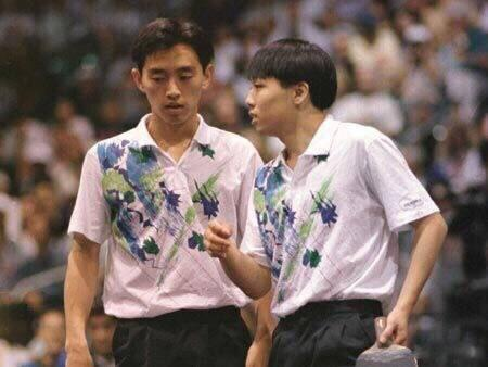 20年后,刘国梁回忆当年搭档:孔令辉当年太霸气